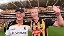 Henry Shefflin (right) with Brian Cody (left).