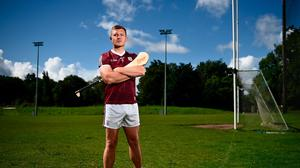 Joe Canning announced his retirement from the intercounty game at the launch of the second series of Bord Gáis Energy's GAAGAABox yesterday. Photo by David Fitzgerald/Sportsfile