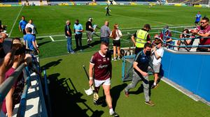 Galway's Joe Canning walks down the tunnel after his side's defeat to Waterford in last weekend's All-Ireland SHC Round 2 clash at Semple Stadium, Thurles. Photo: Harry Murphy/Sportsfile