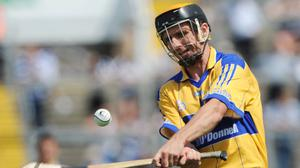 Clare's Tony Griffin in action during the Munster SHC quarter-final against Waterford at the Gaelic Grounds, Limerick in June 2008. Photo: Ray McManus/Sportsfile