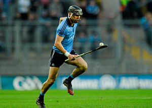 Danny Sutcliffe in action for the Dubs in Croke Park
