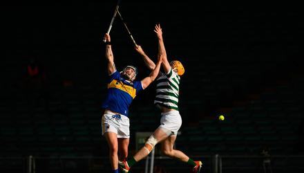 Willie Connors of Tipperary in action against Richie English of Limerick during the Allianz Hurling League Division 1 Group A Round 1 match at LIT Gaelic Grounds. Photo by Ray McManus/Sportsfile