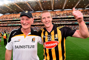 Kilkenny manager Brian Cody and Henry Shefflin