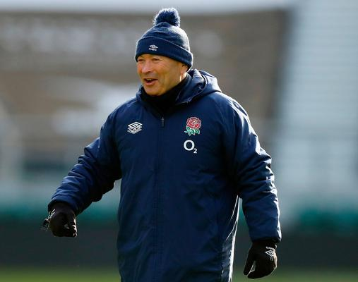 Eddie Jones: England's head rugby coach is one of the sporting minds that Kinnerk studies and admires. Photo: Getty Images