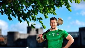 Limerick's Dan Morrissey at King John's Castle in Limerick as part of the GPA's Return to Play event to mark the first season where all senior inter-county players are part of the one player association. Photo: Brendan Moran/Sportsfile