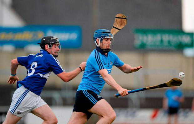Dublin's Paul Ryan gets away from Dwane Palmer of Laois