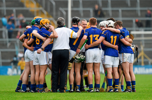 Tipperary manager Eamon O'Shea is looking to sign off with an All-Ireland victory
