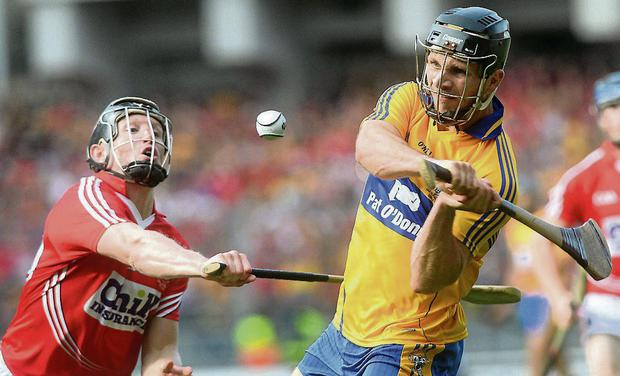 Domhnall O'Donovan scoring the equalising point in the 2013 All Ireland SHC final