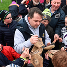Davy Fitzgerald and his backroom team have brought a buzz back to the Wexford set-up after an impressive league campaign. Photo: Sportsfile