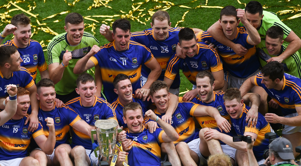 Will the Tipperary hurlers be celebrating silverware once again? Photo: Sportsfile