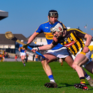 Tipperary's Alan Flynn gives chase after Kilkenny's Luke Scanlon Photo: Sportsfile
