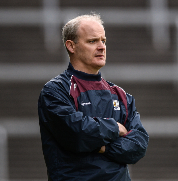 The team holiday to Cancun and New York meant that Galway returned later to the smithy of collective training than Donoghue would have liked Photo: Sportsfile