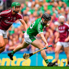 Limerick's first goal, scored by the wily Mulcahy