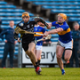 Dublin's Éamonn Dillon in action against Padraic Maher during last week's Allianz League quarter-final victory over Tipperary in Semple Stadium. Photo: Daire Brennan