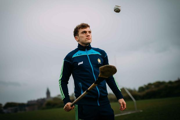 Shane O'Donnell: 'When I'm here at home I spend so much time hurling and training and I didn't appreciate it because I've had so many years of it.' Photo: Eamon Ward
