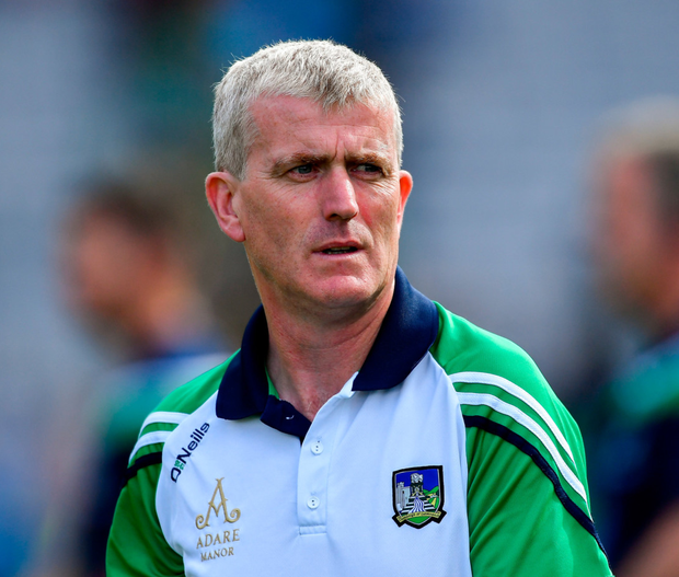 John Kiely has been reappointed as Limerick hurling manager. Photo: Piaras Ó Mídheach/Sportsfile