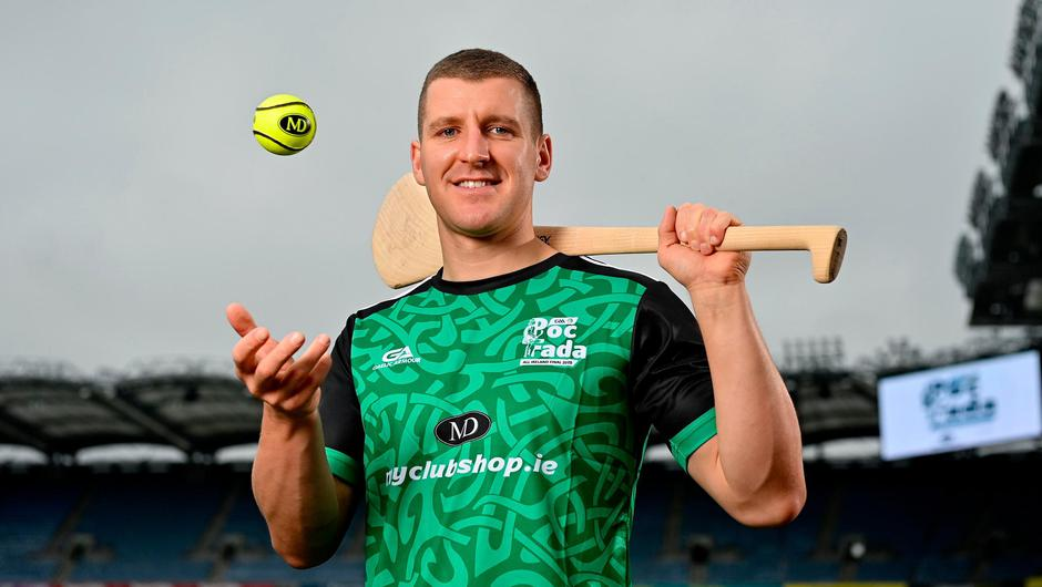 Kilkenny goalkeeper Eoin Murphy at the launch of the 2021 M. Donnelly GAA All-Ireland Poc Fada Finals, which will be held in the Cooley Mountains on September 25. Photo: Seb Daly/Sportsfile