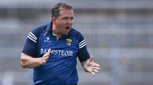 Davy Fitzgerald has stepped down as Wexford hurling manager. Photo: Sportsfile
