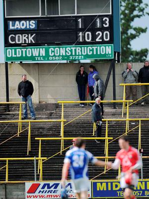 The scoreboard tells a sorry tale for Laois hurling after their meeting with Cork in 2011