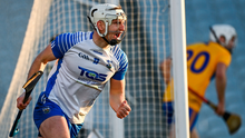 Dessie Hutchinson celebrates after scoring his, and Waterford's, second goal during yesterday's All-Ireland SHC quarter-final win over Clare. Photo: Sportsfile