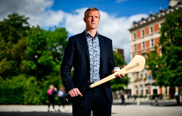 Kilkenny legend Henry Shefflin pictured at the launch of the Allianz League Legends series. Photo: David Fitzgerald/Sportsfile