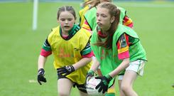 'There is a massive drop-out rate, particularly from primary to secondary school,' says Orlagh Farmer. Photo: Maurice Grehan/GAApics.com