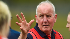 The late Louth manager Micheál McKeown. Photo: Sportsfile