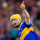 Andrew Ormond celebrates scoring Tipperary's second goal last night. Photo: Piaras Ó Mídheach/Sportsfile