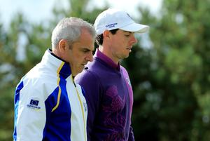 Paul McGinley feels patience is key to Rory McIlroy's Masters' hopes