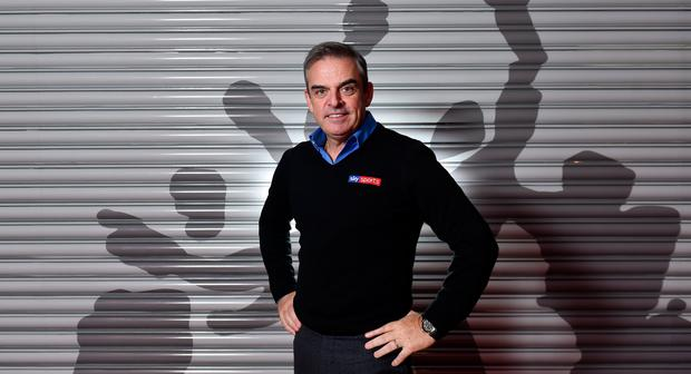 Former Ryder Cup captain Paul McGinley. Photo: David Fitzgerald/Sportsfile