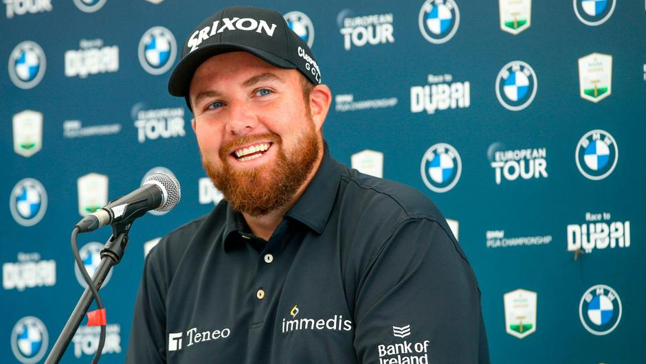 In the hot seat: Shane Lowry's spot on Europe's Ryder Cup team hangs in the balance going into this week's BMW PGA Championship. Credit: Virginia Water/Getty Images