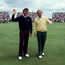 Jack Nicklaus with Seve Ballesteros: 'I've always considered these islands to be the home of golf'. Photo: Ray McManus/Sportsfile