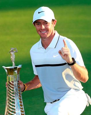 Rory McIlroy was Europe's No 1 Photo:Getty