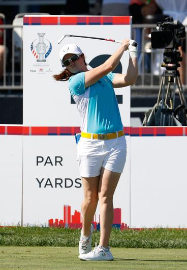Woman on a mission: Leona Maguire. Credit: Sportsfile
