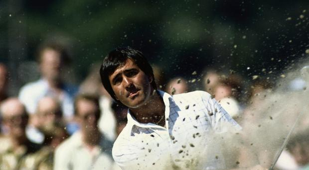 The late, great Seve Ballesteros was always popular with Irish Open galleries, especially when he won the title in 1983