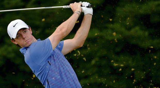 Rory McIlroy will be flying the flag at Carton House
