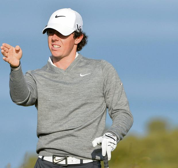 Rory McIroy may have been busier off the course than on the course so far