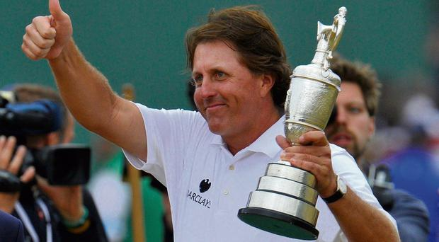 Phil Mickelson: 'I never knew I'd be able to win this tournament'