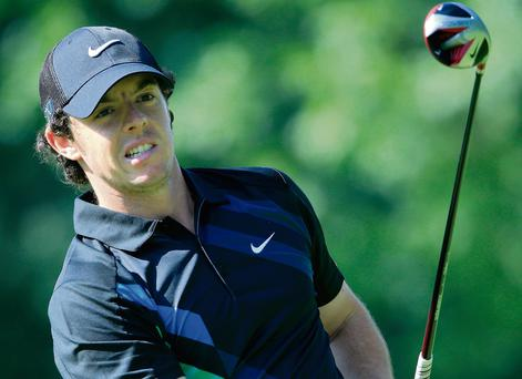 'I'm a lot more positive than I was this time here last year, so that's a great sign,' says Rory McIlroy ahead of the Bridgestone Invitational