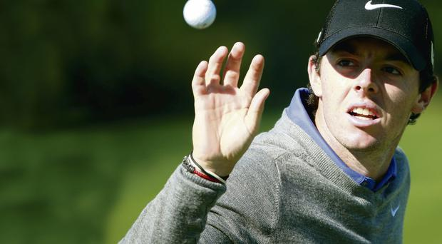 Rory McIlroy had a miserable day in Chicago yesterday unlike Jim Furyk who carded a 12-under-par 59