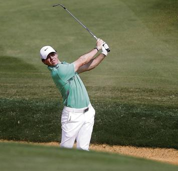 Rory McIlroy finished in a share of 27th place after a disappointing 73