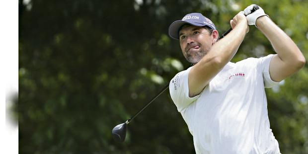Padraigh Harringon during the Pro-Am of this week's tournament in Durban