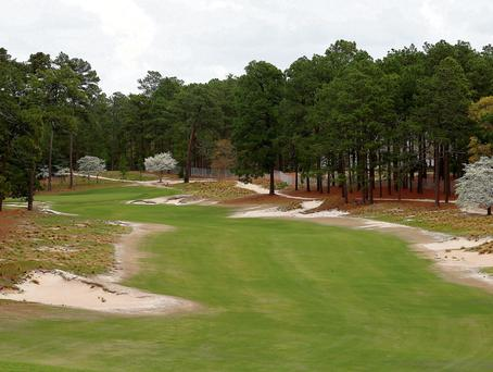 The fourth at Pinehurst No 2: 'There will be none of the murderous rough which has characterised US Opens for over 120 years'