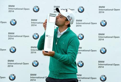 31-year-old Fabrizio Zanotti captured the BMW International Open to become Paraguay's first winner on the European Tour