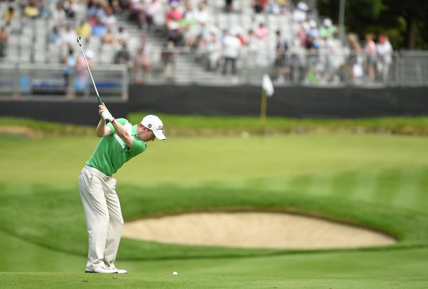 Gavin Moynihan, pictured here in 'scintillating form in the European Amateur Team Championship' has now returned to a favourite stomping ground