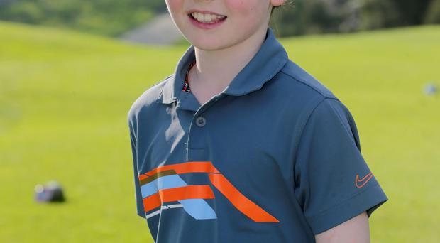 Charlie Quinn plays a young Rory McIlroy in an upcoming Nike Ad