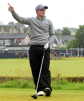 Paul Dunne: 'Missing the South African Open was terribly disappointing' Photo:Sportsfile