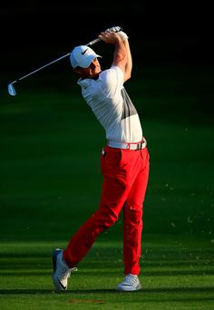 Rory McIlroy has been delivering a strong performance at the Abu Dhabi HSBC Golf Championship