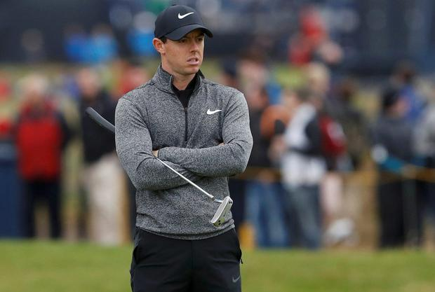 Rory McIlroy. Photo: Reuters