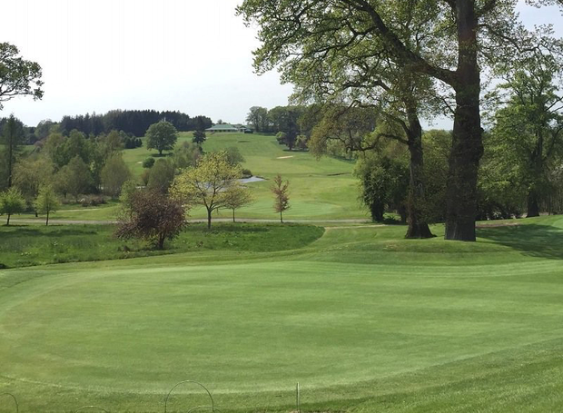 Rathsallagh's beautiful parkland course remains as challenging as ever